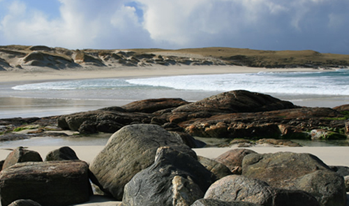 Coastal Scene, South Uist